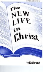 New Life in Christ book 1